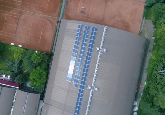 Solaranlage von Mainova